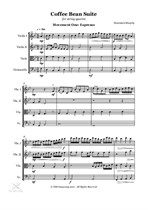 The Coffee Bean Suite for String Quartet - Movement One: Espresso (Full Score)